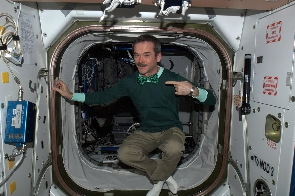 How To Puke In Space And Other Important Things We Learned From ISS Commander Chris Hadfield