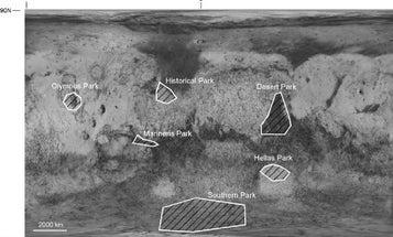 Should We Establish National Parks On Mars?