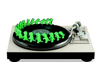 Make A Zoetrope Out Of A Turntable