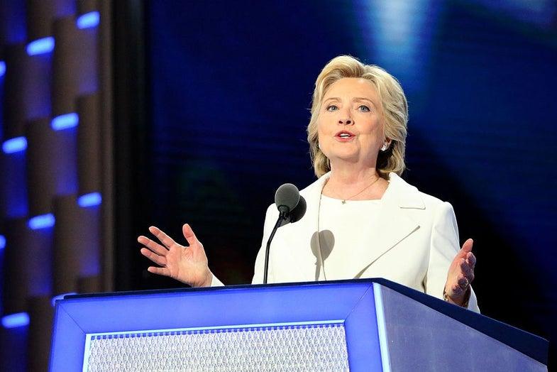 hillary clinton DNC speech