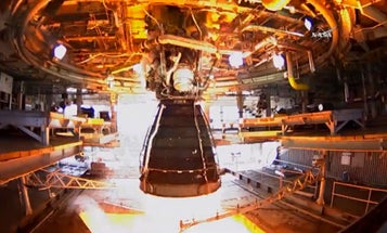 Watch NASA's Deep Space Engine Roar To Life In Test-Fire