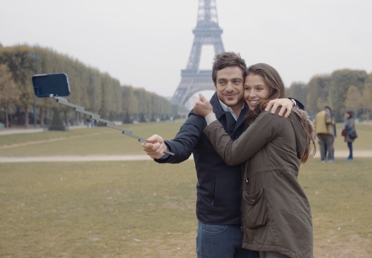 The Combination Selfie Stick/Phone Case Of Your Dreams Is Here