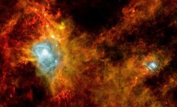 Herschel Telescope Captures Star Formation In Never-Before-Seen Corner of Deep Space