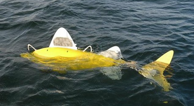 Giant European Robofish Sniff Out Ocean Pollutants Autonomously