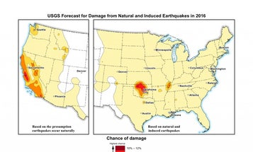 Will An Earthquake Damage Your Area In The Next Year?