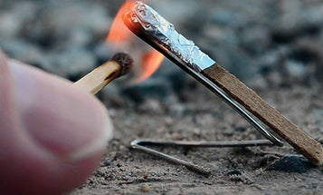 How To Turn A Match Into A Tiny Rocket [VIDEO]