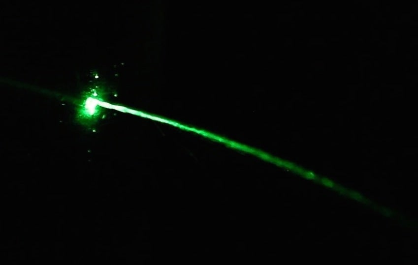 Bend A Laser Beam With This Easy, Physics-Defying Experiment