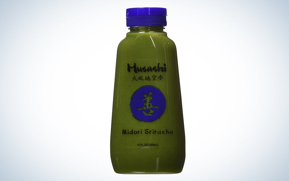 Midori Green Chili Sriracha Sauce by Musashi Foods