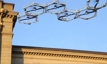 Honeycomb Drone Swarm Can Fly In Any Shape