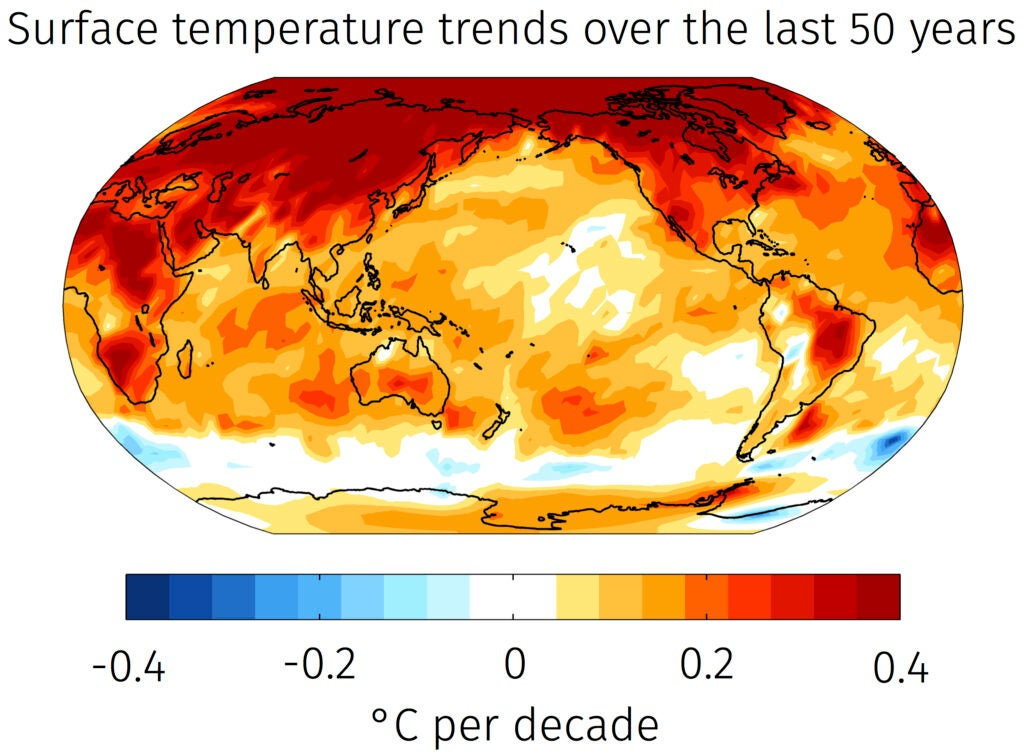 While most of the Earth has seen warming, the Southern Ocean has cooled.