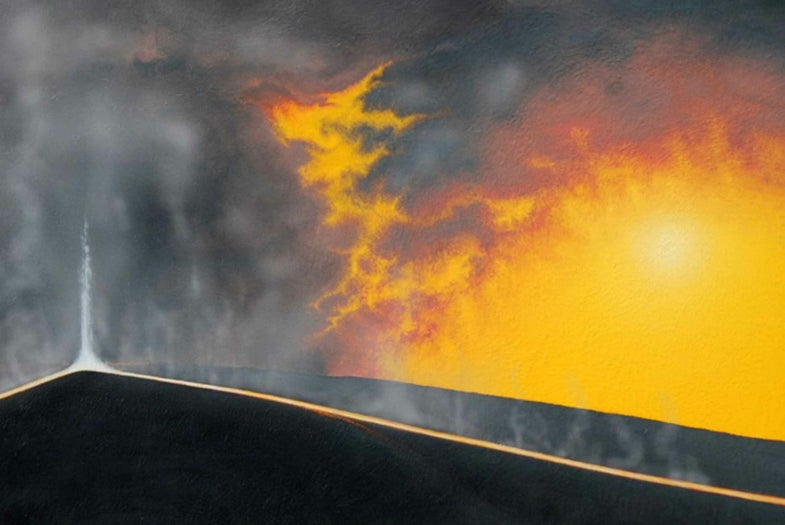Recent flows of insanely hot lava show us just how dynamic Earth really is