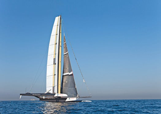A Faster Yacht, Trading Sails For a Wing