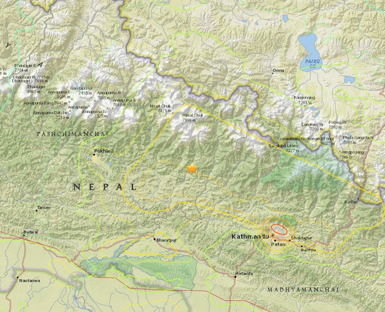 Massive Earthquake Shakes Nepal; Avalanches On Everest