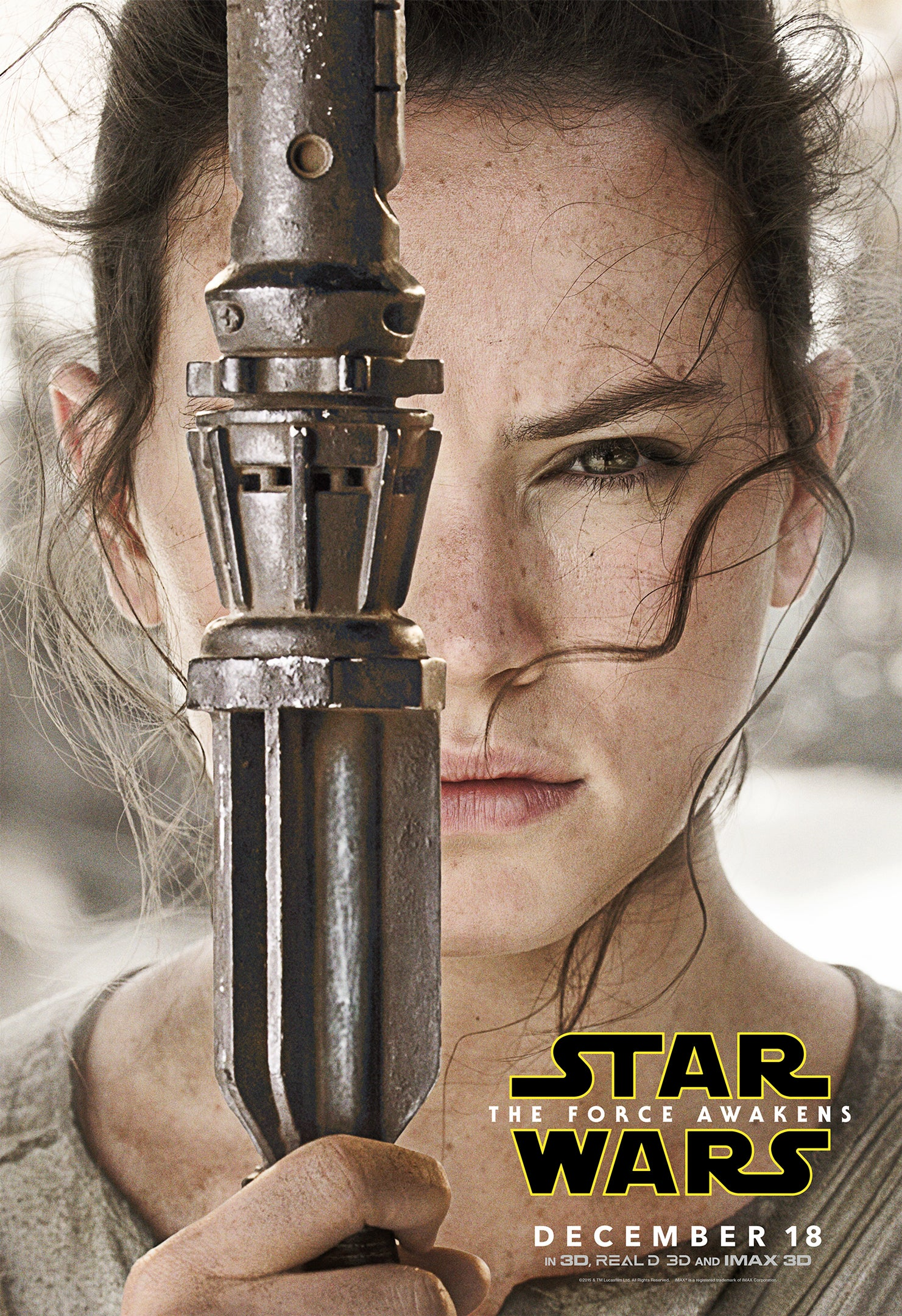 Rey, as played by Daisy Ridely