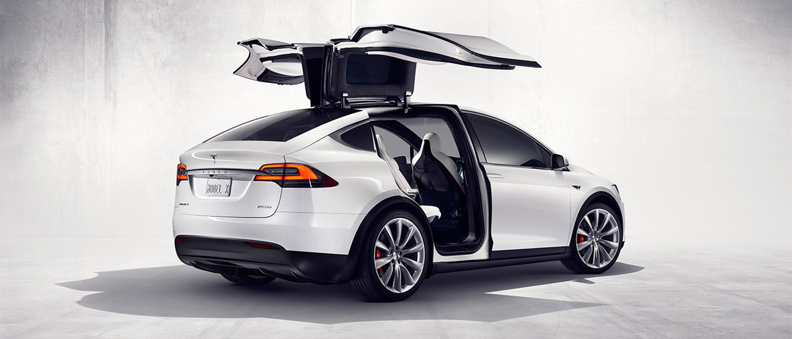 Watch The Tesla Model X SUV's 'Falcon' Doors In Action
