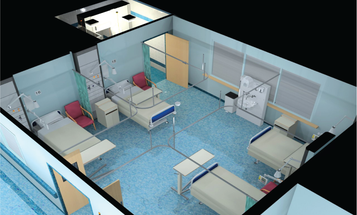 Here's How Disease Spreads In A Hospital Ward