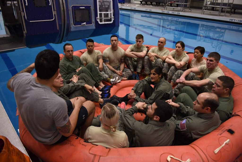 nasa astronaut survival school