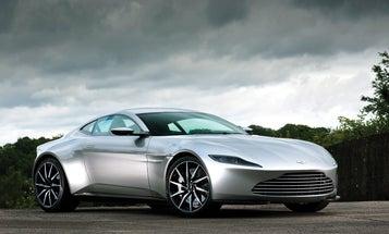 Aston Martin's DB10 Is A Menacing Supercar
