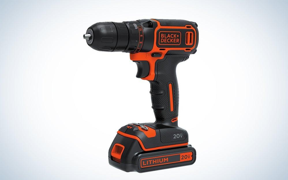 Black & Decker power drill