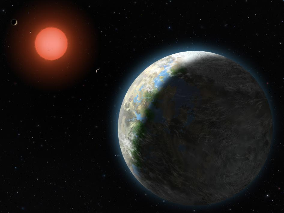 New Rankings List Gliese 581g As the Most Habitable Exoplanet