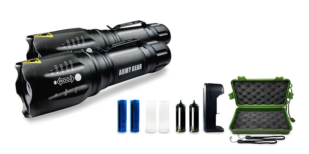 These 1000-lumen tactical flashlights will light your path through any night