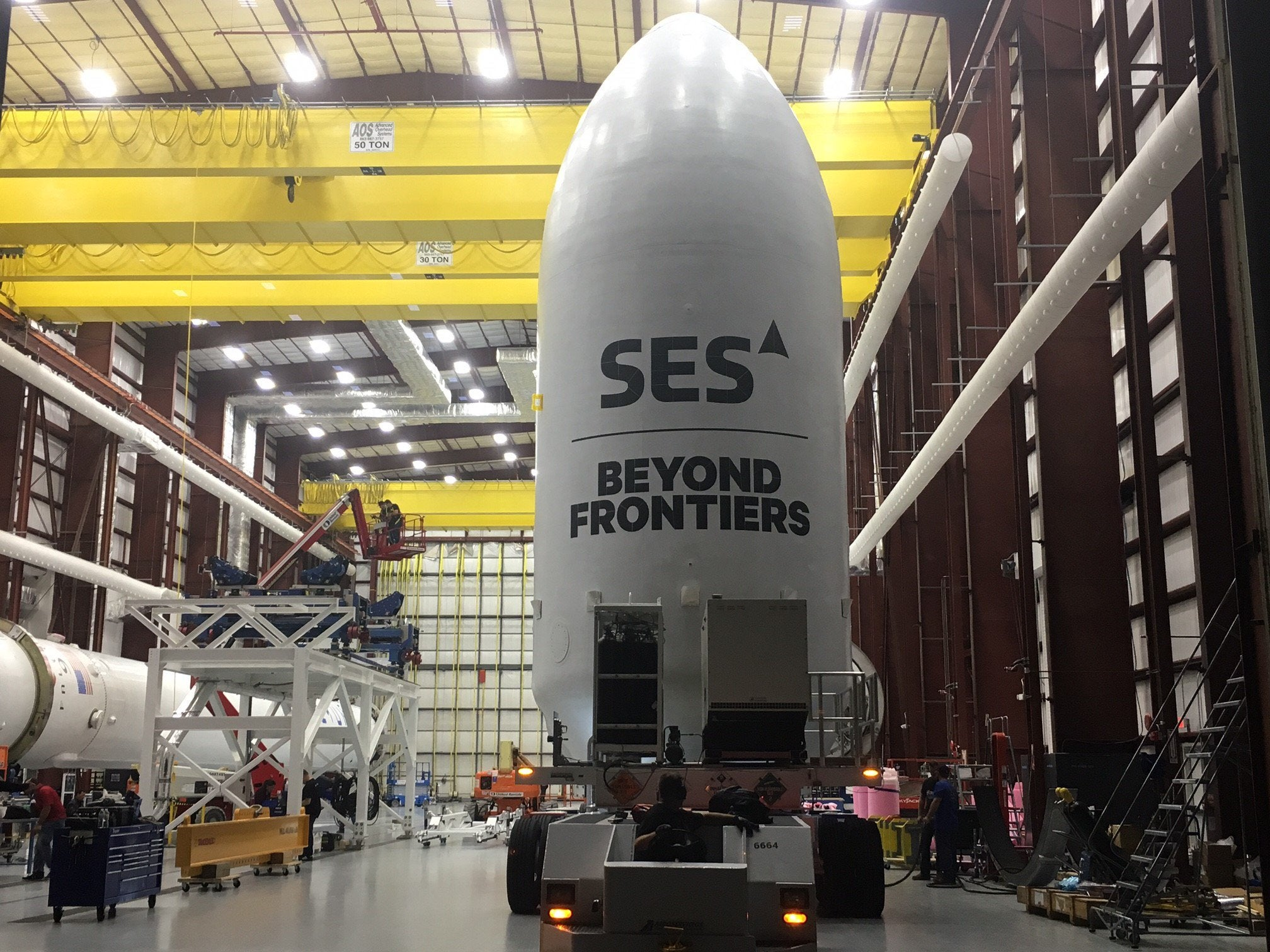 SpaceX landed an entirely new piece of the Falcon 9 rocket tonight