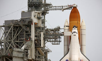 On a Rainy Shuttle-Launch Eve, Atlantis is Still Go, For Now