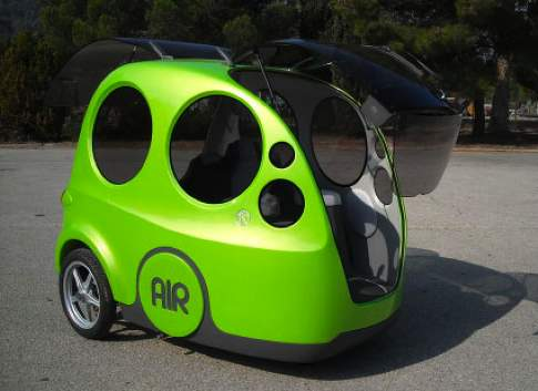 Compressed-Air Cars Planned for Airport Test, US Launch