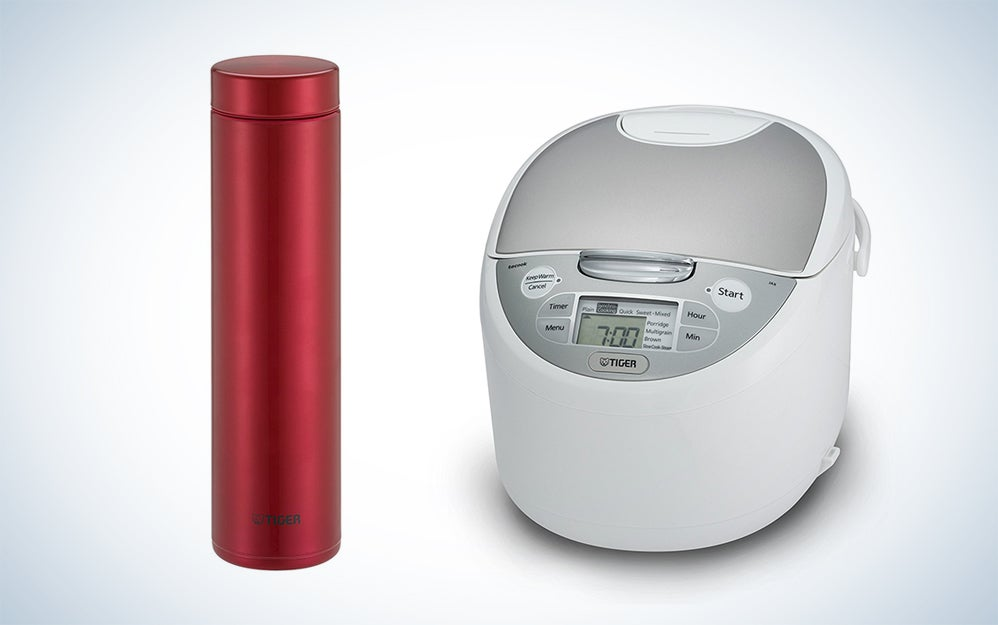 Travel mugs, rice cookers, and water heaters