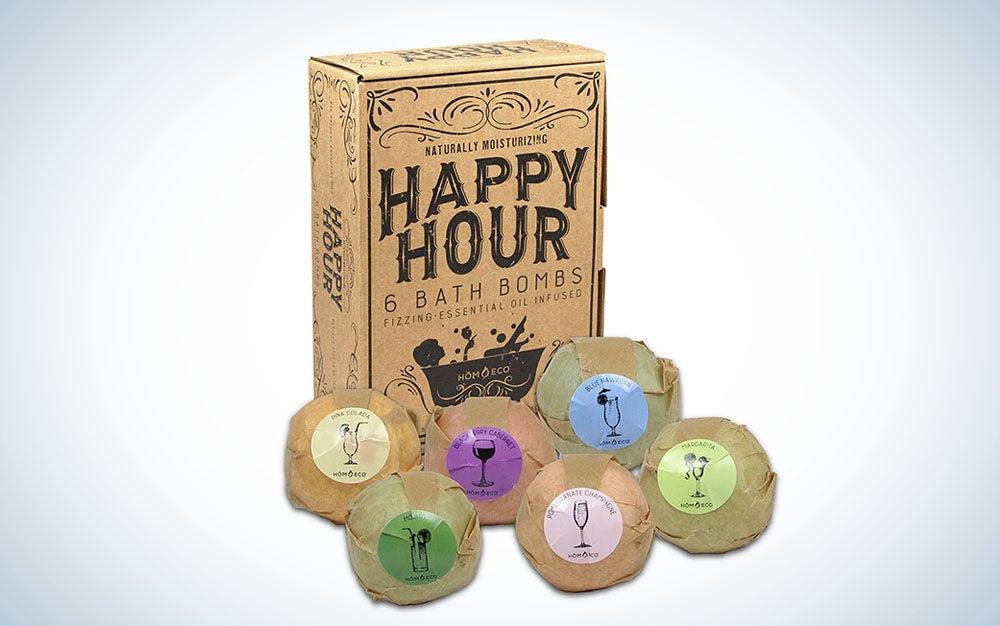 Happy Hour Bath Bombs Gift Set