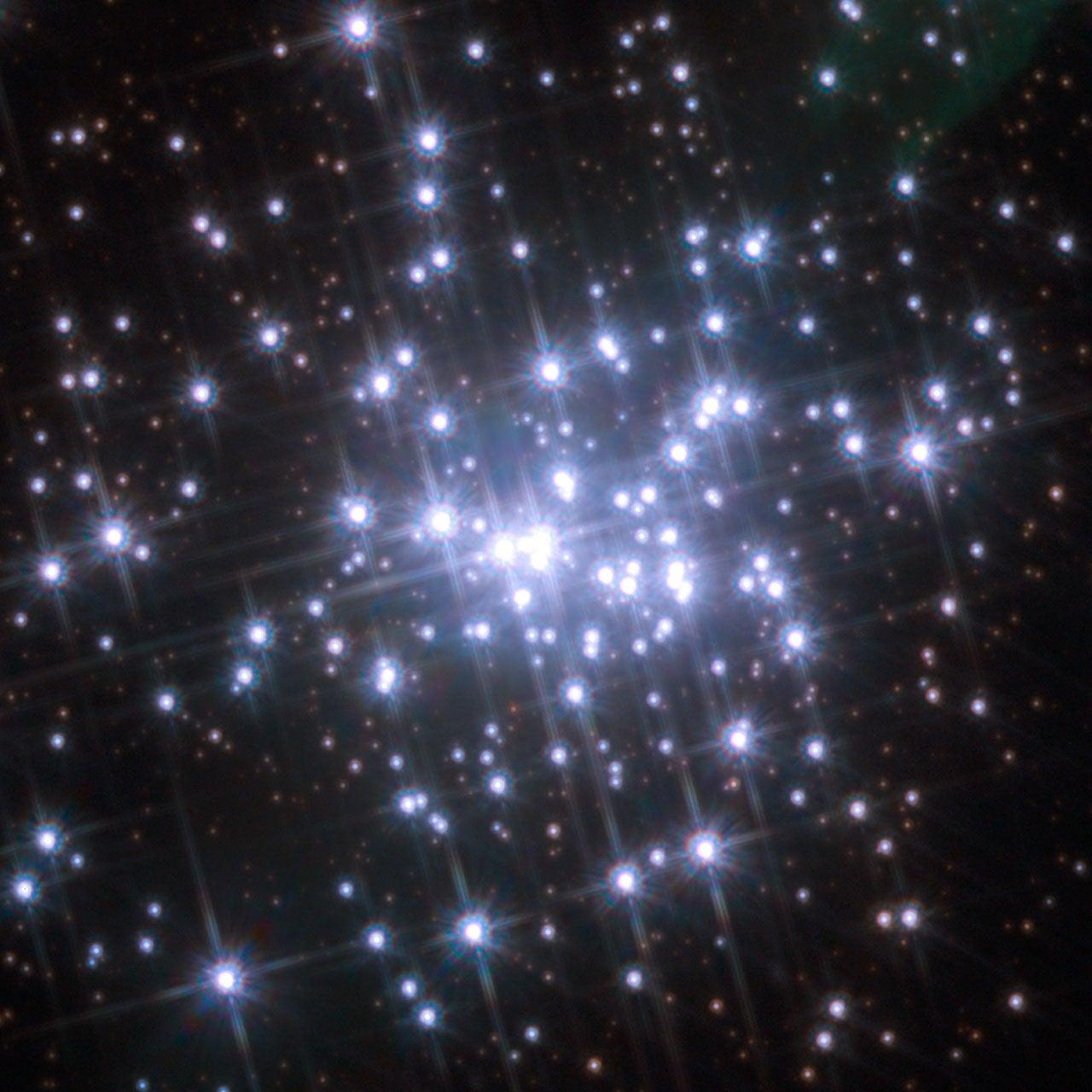 Hubble Glimpses Stars on the Move