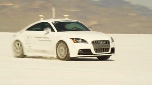 Autonomous Audi TTS Will Ascend Pike's Peak Course at High-Speed, Sans Driver