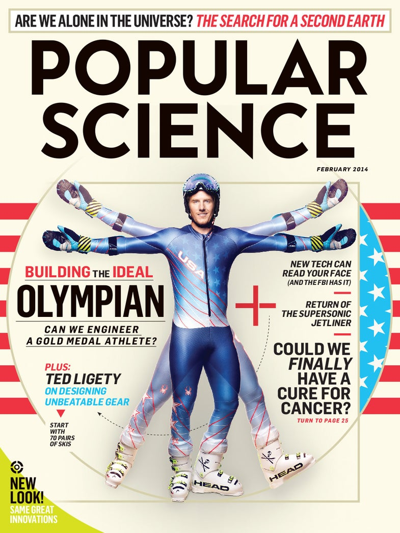 February 2014: Engineering The Ideal Olympian