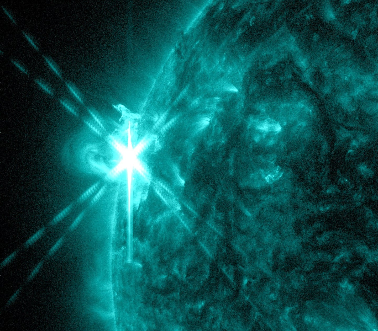 Antimatter Particles Detected Erupting From Solar Flares
