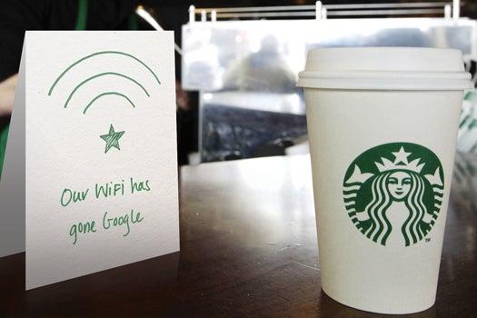 Starbucks Taps Google To Improve Coffee Shop Wi-Fi