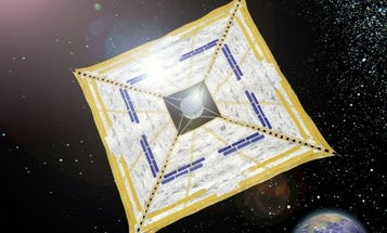 Japan to Launch Solar-Sail-Powered Craft Out Beyond Orbit for the First Time