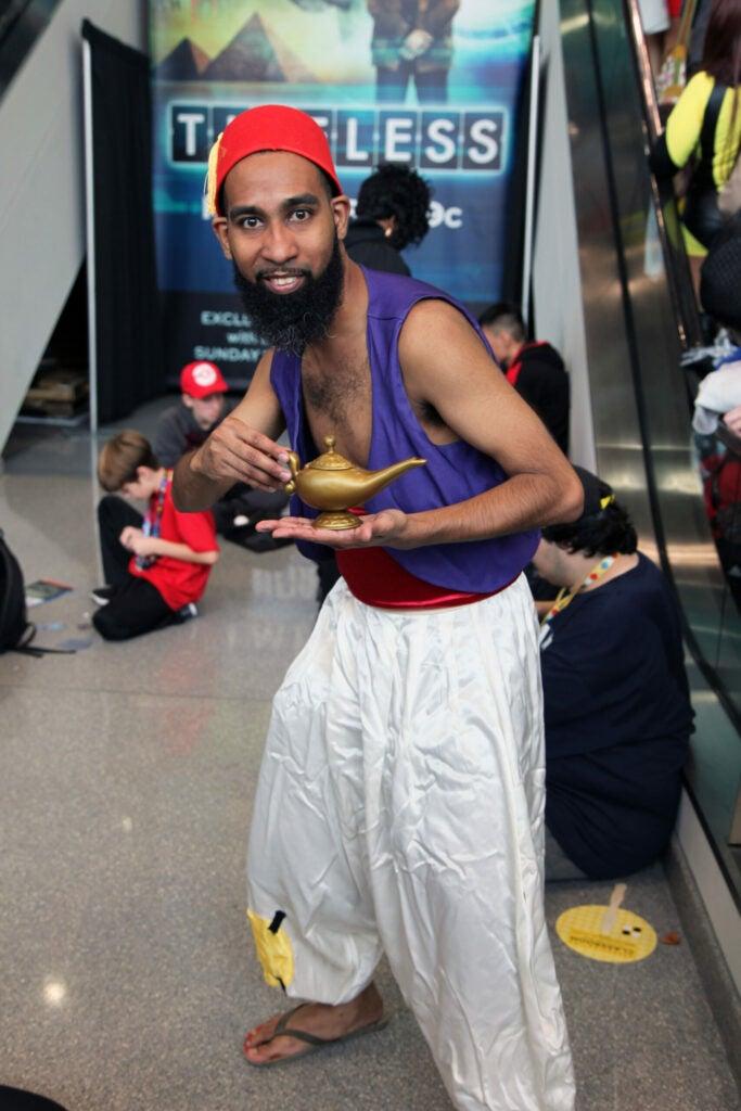 Dane as Aladdin