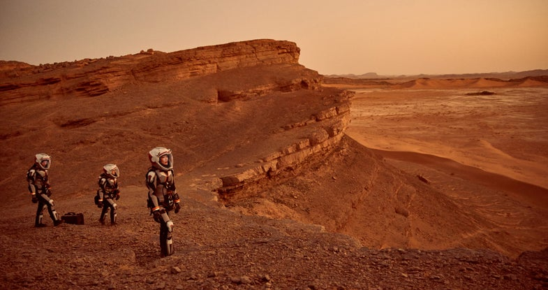 Why Ron Howard and Brian Grazer want to take you to Mars