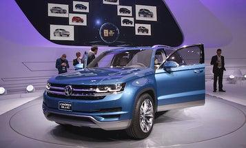 Detroit Auto Show 2013: VW Shows Off A Plug-In SUV Concept