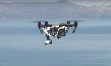 'Good Drones' Conducts Test Flights To Save Lesbos Refugees