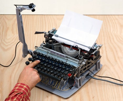 Musical Typewriter Turns Your Essays Into Aural Masterpieces