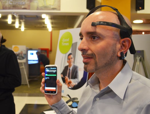 Brain Wave Sensor Shields You From Phone Calls When Your Mind Is Too Busy