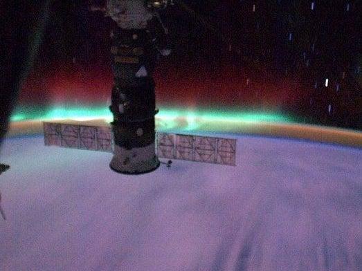 Flying Through an Aurora at More Than 17,000 MPH