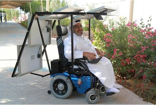 Emirati Man Undertakes 200-Mile Desert Journey in Solar-Powered Wheelchair