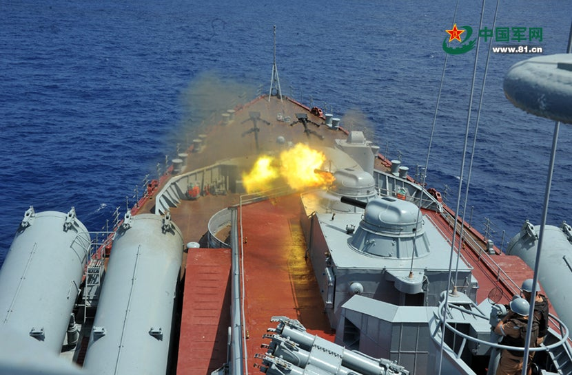 Sino-Russian Naval Exercise in Club Med