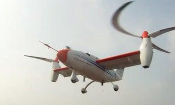 South Korea Unveils Fast Tiltrotor Drone Prototype