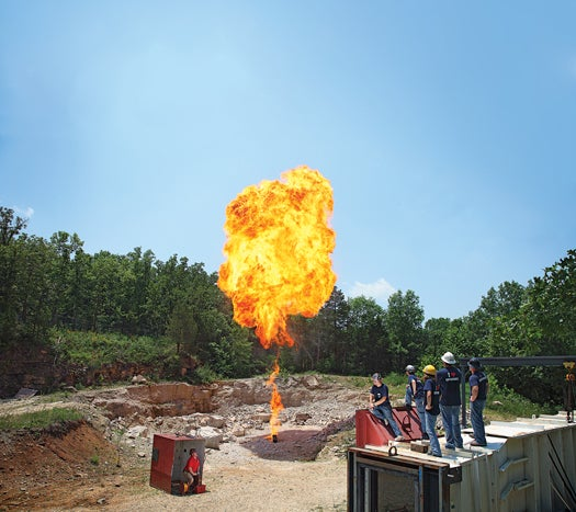 The Labs That Go Boom: The Explosives Engineering Lab Executes Flawless Demolitions