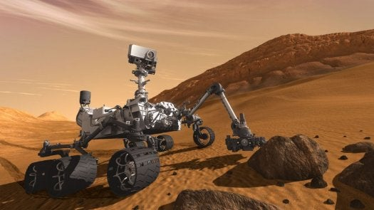 New Brain Upgrade To Let Mars Rover Curiosity Decide For Itself Which Rocks To Zap