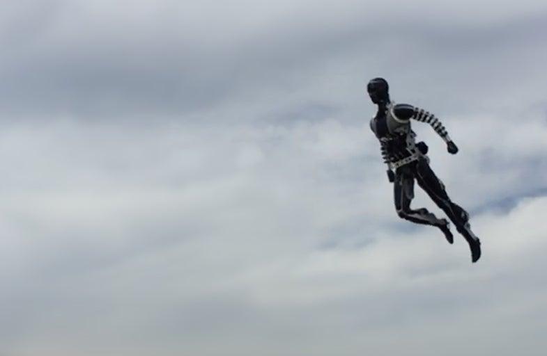 Disney robot Stuntronics