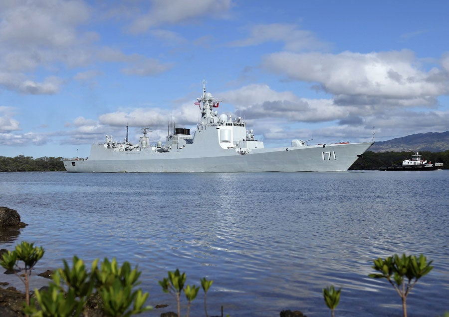 Get to Know The Chinese Warships That Just Arrived in Hawaii